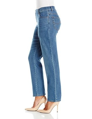 LEE Women's Petite Relaxed Fit Straight Leg Jean 3