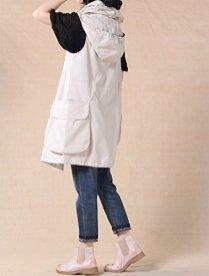 Mordenmiss Women's Sleeveless Coat Vest Hoodie Waistcoat Anoraks 4