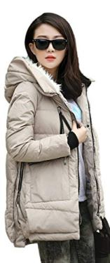 Orolay Women's Thickened Down Jacket 4