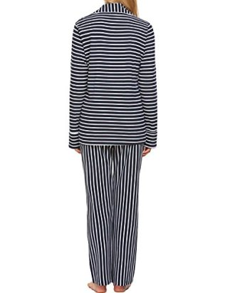 Ekouaer Pajamas Women's Long Sleeve Sleepwear Soft Pj 8