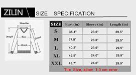 ZILIN Women's Cold Shoulder T-Shirt Long Sleeve Knot Twist 5
