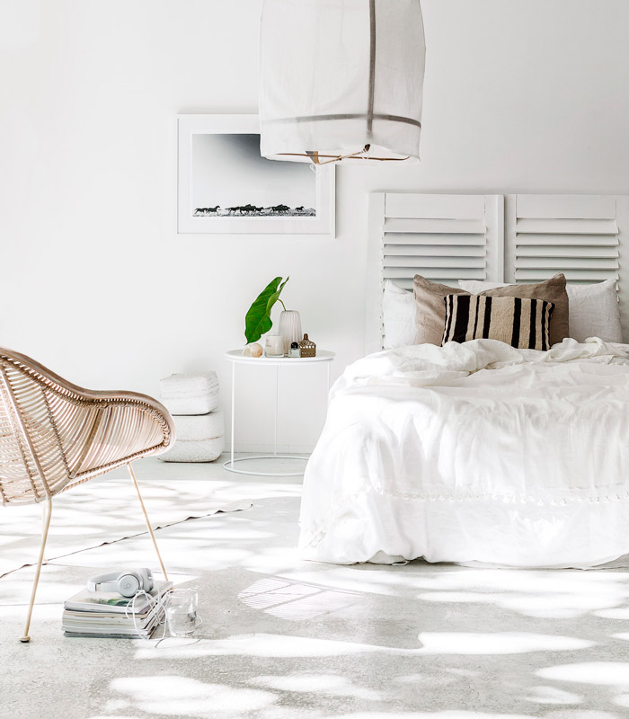 Indie Home Collective Bedroom • ChicDeco Blog