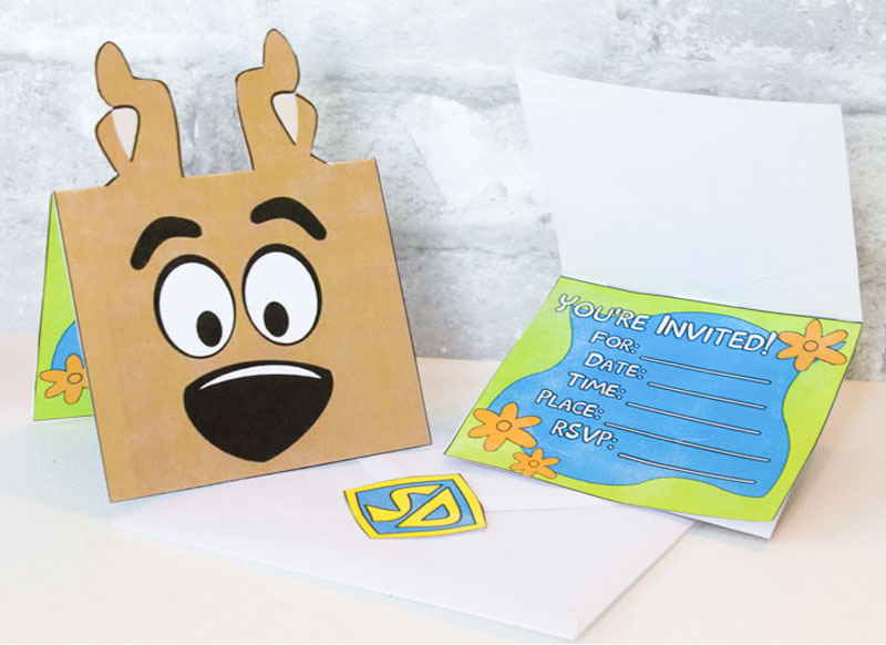 scooby doo birthday party ideas and