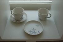鳥のお皿とカップ♪