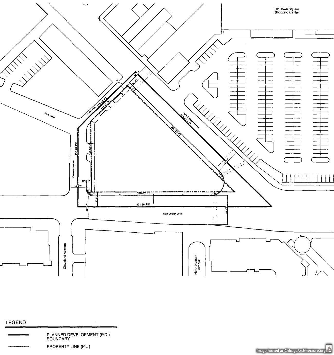 Diagram Of Proposed Building At 442 West Division