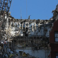 Jones Building demolition