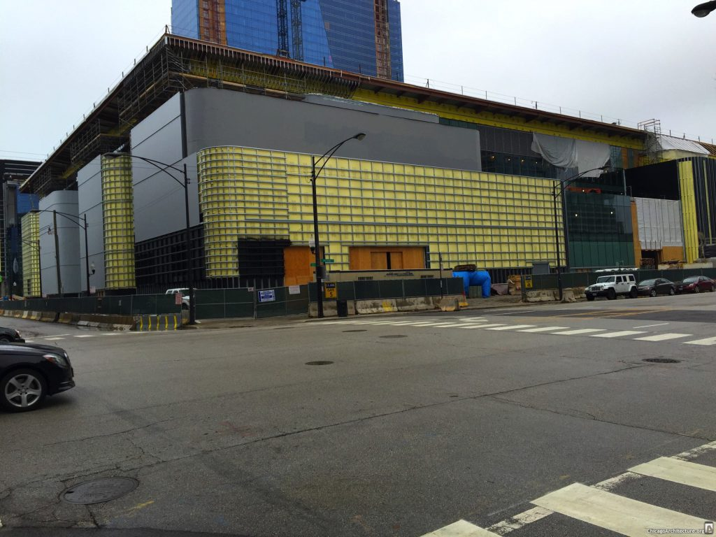 Witrust Arena under construction (Courtesy of South Loop Spy Joel)
