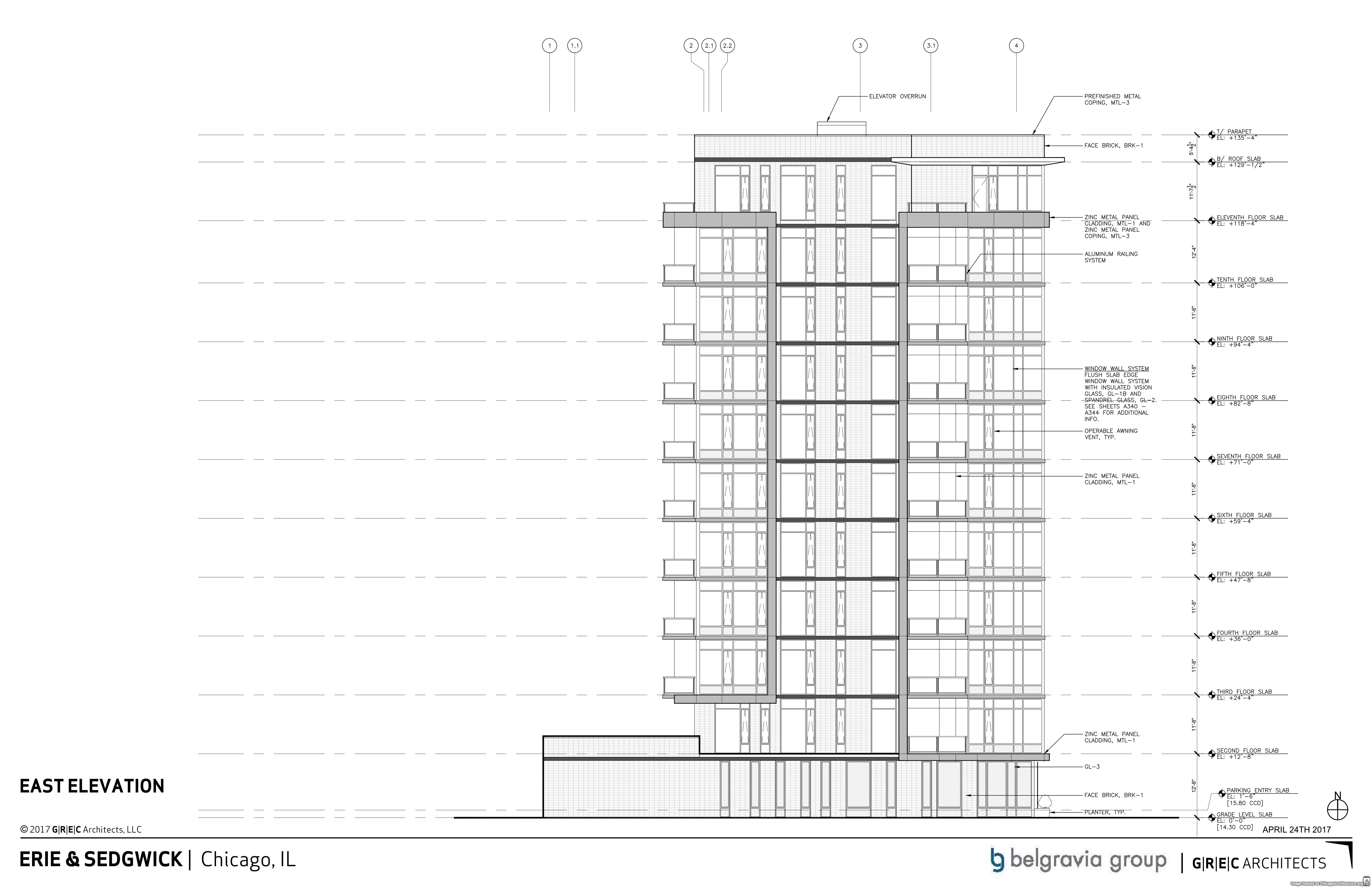 Condo Block Plotted For Erie And Sedgwick In River North