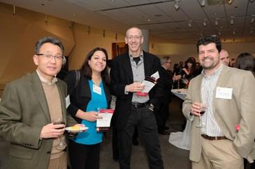 CBC community members (from left): Wonhwa Cho, Kapila Viges, Arnon Lavie and John O'Bryan (UIC)