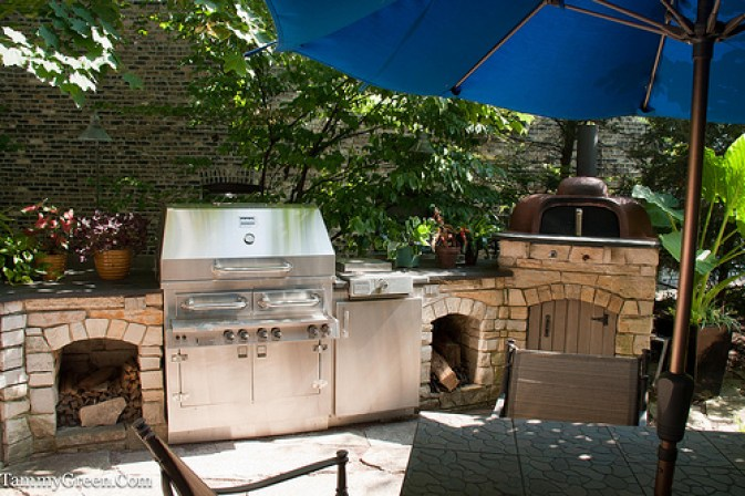 Rick Bayless | Outdoor Kitchen