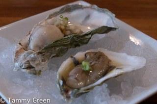 East Coast West Coast Oysters   Endgrain