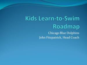 Kids Learn to Swim Roadmap