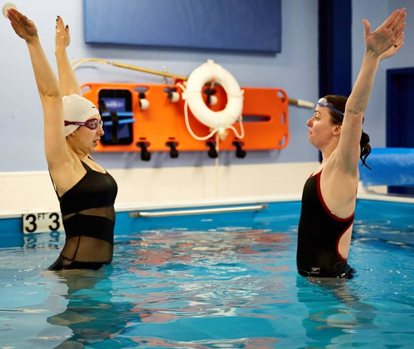 Adult Swimming Lessons | Chicago Blue Dolphins Swim School