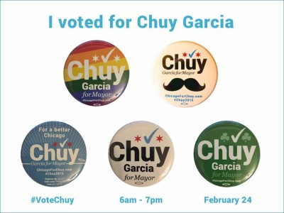 I voted for Chuy Garcia