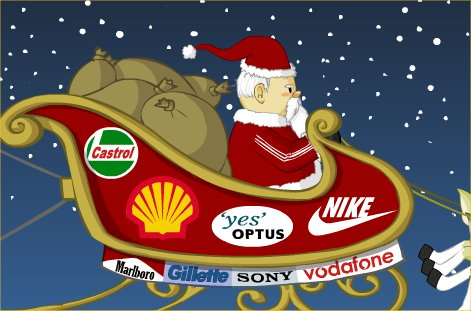 Image result for christmas commercialism