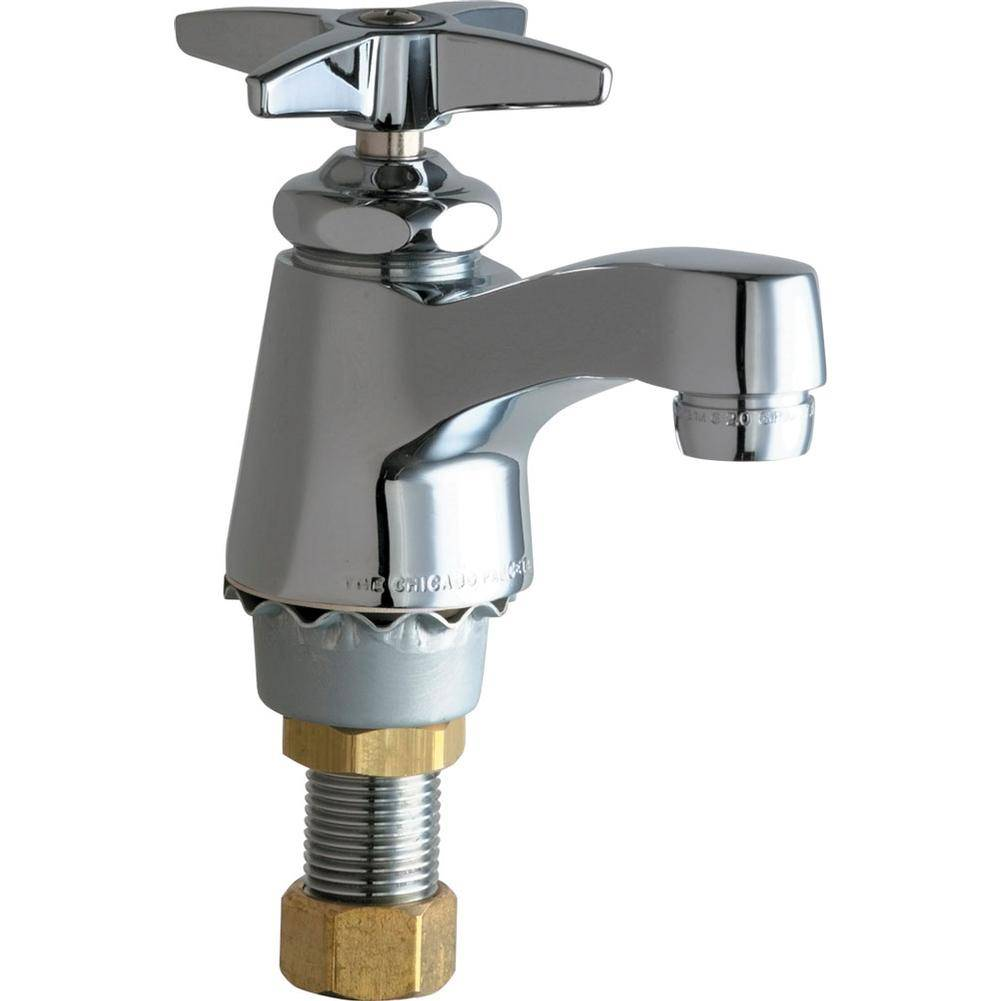 chicago faucets 700 coldabcp single supply cold water sink faucet