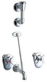chicago faucets commercial utility service mop sink faucet 911 iscp