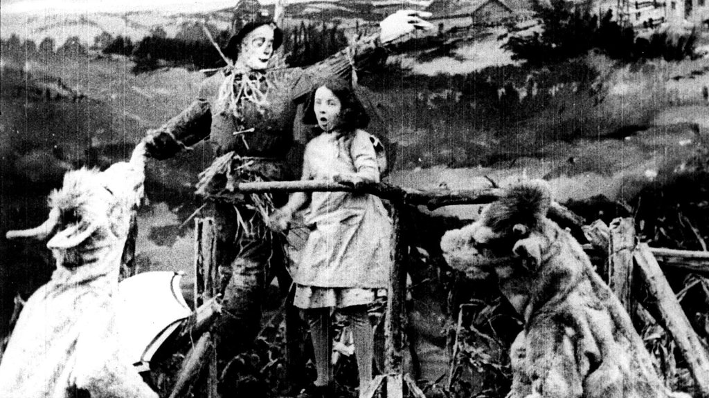"""The Wonderful Wizard of Oz"" was first made into a movie in 1910, in Chicago, by the Chicago-based Selig Polyscope Company"