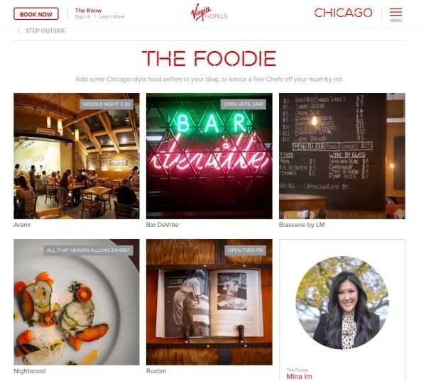 Chicago Food Girl - The Foodie - Virgin Hotels Chicago