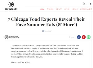 chicago-food-girl-Chicago Food Blogger Summer Dishes Ideas