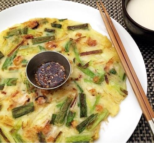 Haemul Pajeon: Savory Seafood Korean-style pancakes