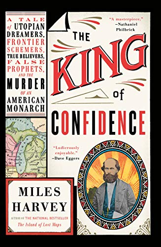 King of Confidence by Miles Harvey book cover