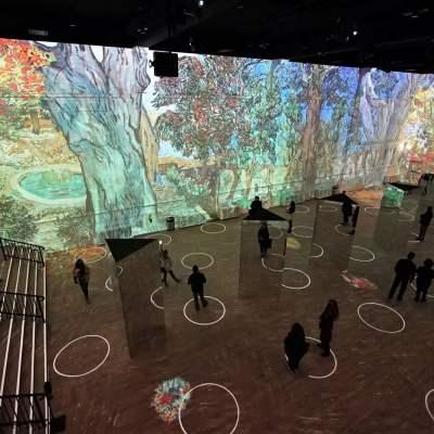 ألقِ نظرةً على تجربة معرض «Immersive Van Gogh» الكاملة