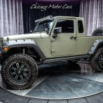 Used 2015 Jeep Wrangler Unlimited Willys Wheeler Jk8 Pick Up Conversion For Sale Special Pricing Chicago Motor Cars Stock 15923a