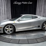 Used 2000 Ferrari 360 Modena Coupe 6 Speed Manual Serviced Tubi Exhaust For Sale 99 800 Chicago Motor Cars Stock Y0121467