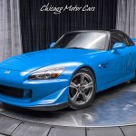 Used 2008 Honda S2000 Cr 1 Of 200 In Apex Blue Pearl For Sale Special Pricing Chicago Motor Cars Stock 16260