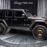 Used 2020 Jeep Wrangler Unlimited Rubicon Supercharged Only 3k Miles Over 40k In Upgrades For Sale Special Pricing Chicago Motor Cars Stock Lw196696