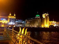 From the boat looking at the West side of the HuangPu River, Puxi.