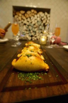 Empanada De Espinaca: Savory Pastry, Swiss Chard, Sardo Cheese, Roasted Onions