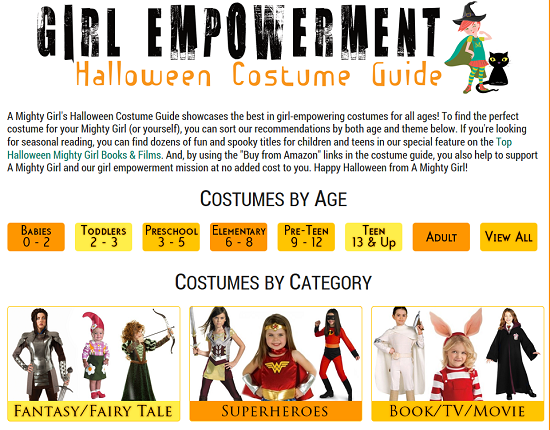 A Mighty Girl Halloween Costume Guide