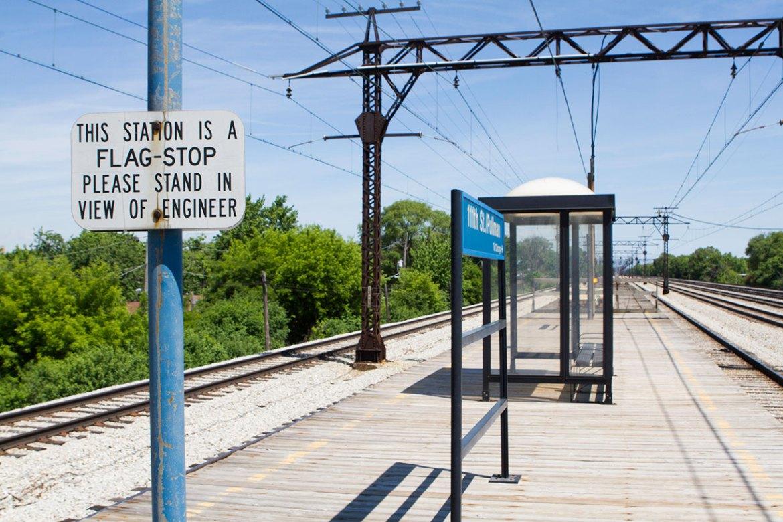 Metra Electric Pullman station