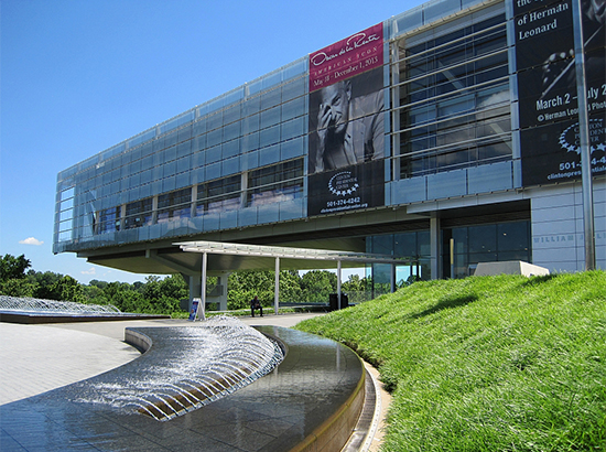 The William J. Clinton Presidential Center & Park