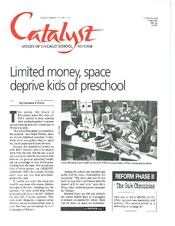 Catalyst Chicago issue cover, published Oct 1995