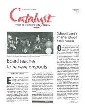 Catalyst Chicago issue cover, published Oct 1998