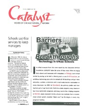 Catalyst Chicago issue cover, published May 1999