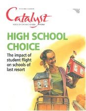 Catalyst Chicago issue cover, published Dec 2001