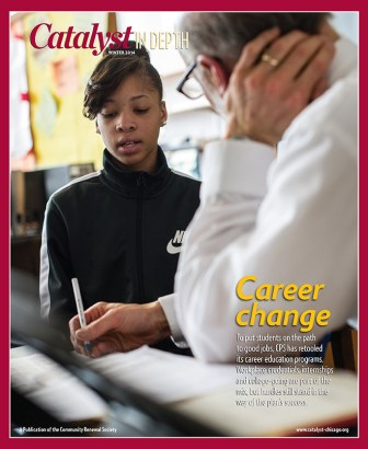 Catalyst Chicago issue cover, published Feb 2014