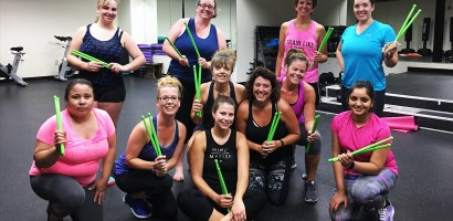 Chicago Sports & Fitness Club - Pound Group Fitness Class