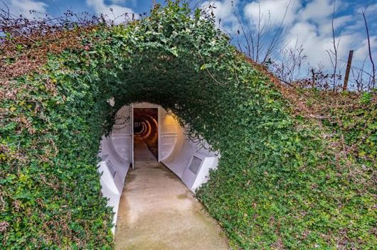 Underground house in Texas is crazy with color and extremely private - Chicago Tribune