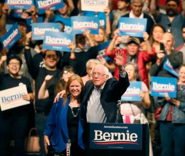 Nevada Caucus Bernie Sanders Cements Front Runner Status With Win