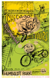 Tour of Humboldt Park 2013 Poster by Ross Felton