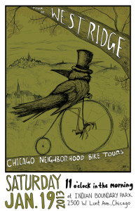 Tour of West Ridge 2013 Poster by Ross Felton