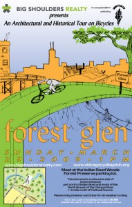 Tour of Forest Glen 2009 Poster by Ross Felton