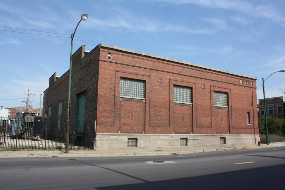 Pershing Road Substation