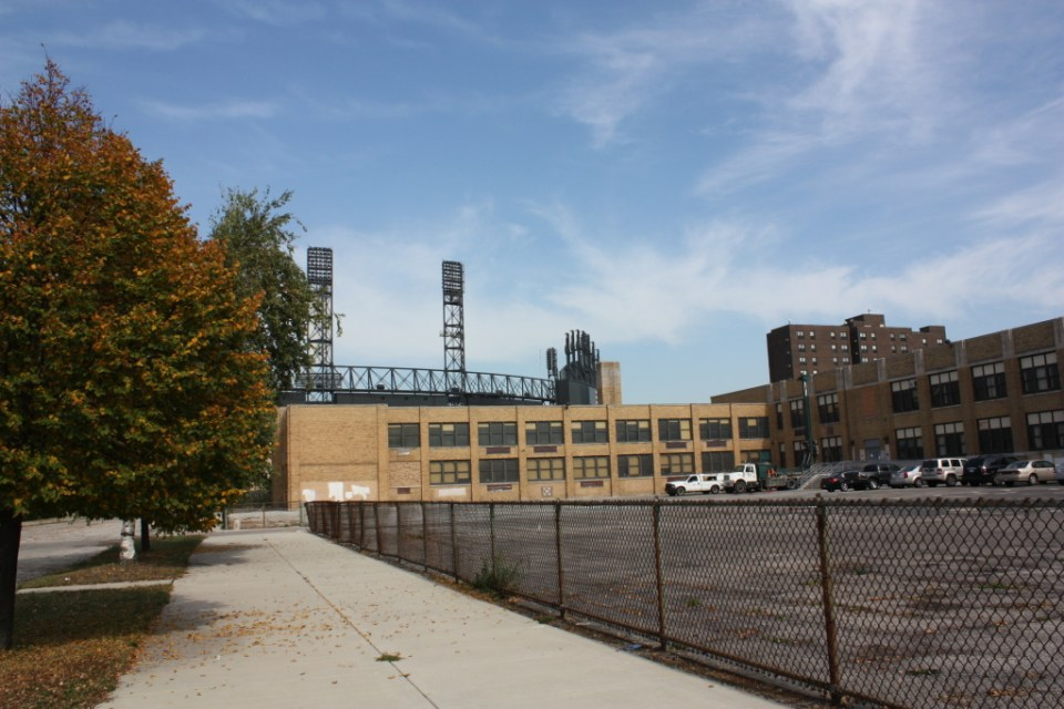 Robert Abbott School and US Cellular Field as ultimate distraction