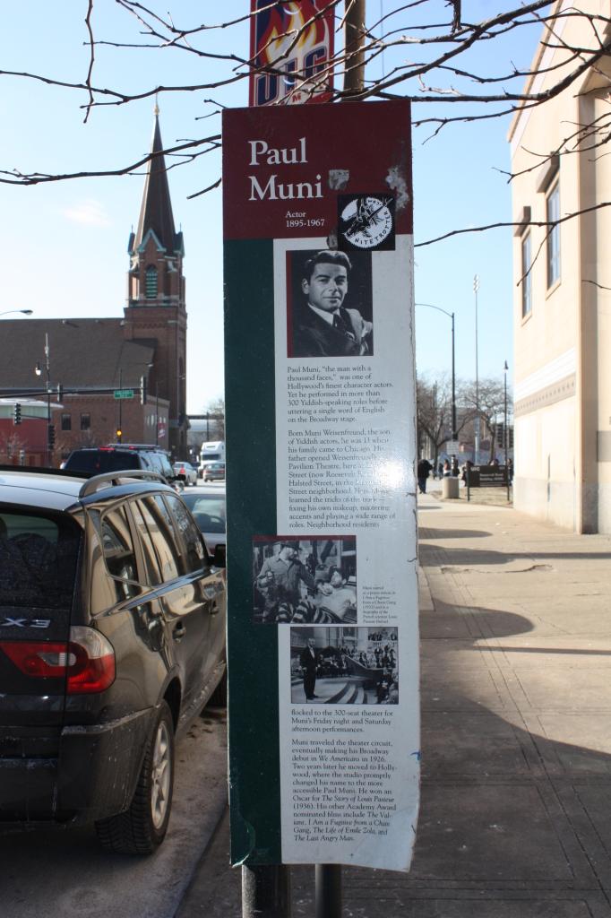 Paul Muni Marker